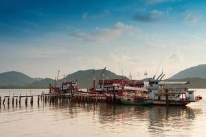 porto de barco de pesca