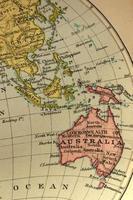 austrália e sudeste da ásia
