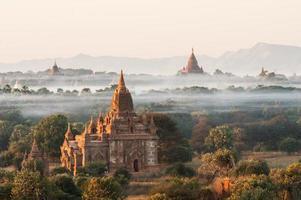 pagodes de bagan foto