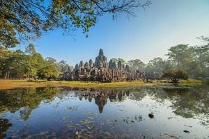 castelo de bayon, camboja foto