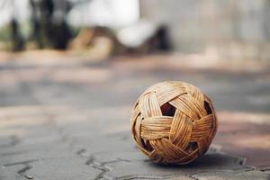 sepak takraw ball foto