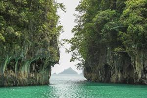 ilha de hong em krabi Tailândia foto