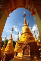 Província de Wat Pasawangboon Saraburi, Tailândia foto