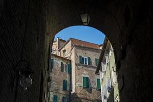 Siena. Toscana. Itália. Europa. foto