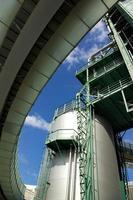 detalhe da refinaria foto