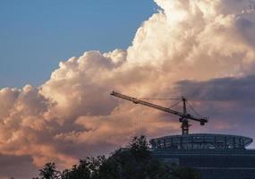 construção urbana foto