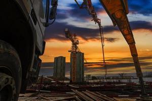 local de construção foto
