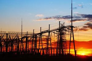 as instalações de fornecimento de energia foto