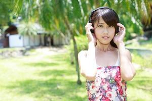 retrato de povos asiáticos foto