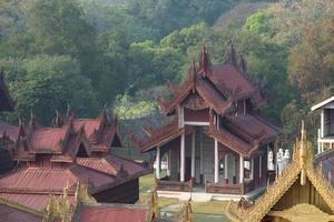 Palácio de Mandalay foto