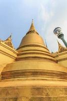pagode em wat phra kaew foto