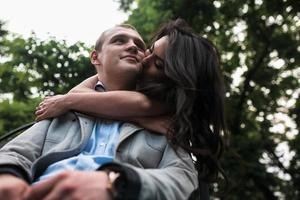 jovem casal europeu foto