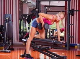 treinamento de ginástica foto