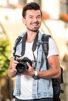 turistas foto