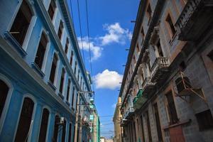 antigo edifício cubano foto