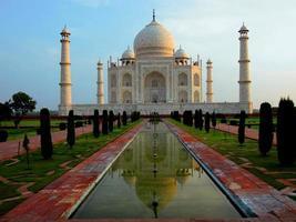 taj mahal, agra, índia foto