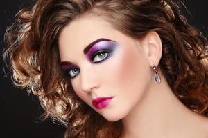 maquiagem discoteca foto