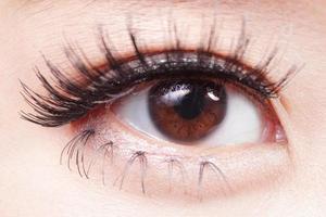 olho de mulher bonita