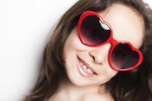 óculos de amor foto