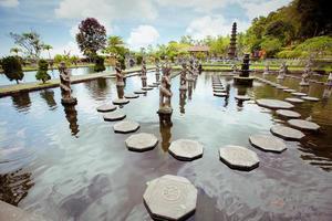 palácio da água de tirtagangga foto