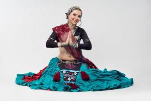 mulher oriental foto
