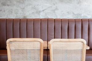 design de interiores de café foto