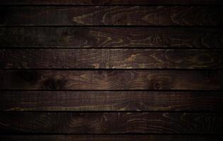 painéis texturizados de madeira escura foto
