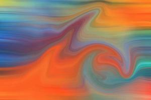 pintura abstrata brilhante foto