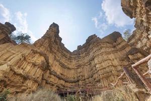 pha chor canyon na Tailândia foto