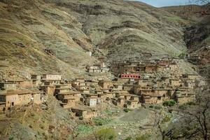 uma pequena vila em marrocos foto