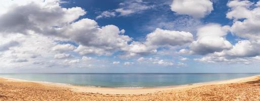 vista panorâmica do mar de andaman foto