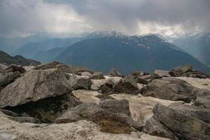 vista para a montanha foto
