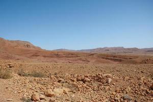 deserto de terra seca foto