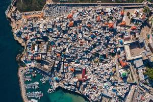 vista aérea dos edifícios da cidade