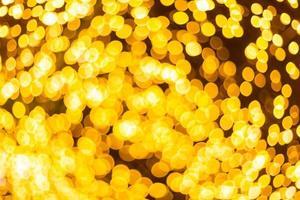 bokeh dourado colorido foto