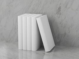 modelo de livros em branco