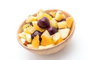 frutas fatiadas mistas foto