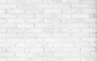 close-up de parede de tijolo branco foto