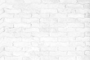 superfície de tijolo branco foto