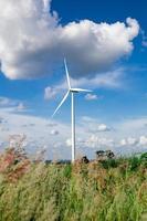 fazenda de turbinas eólicas