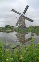 moinho de vento com efeito plástico