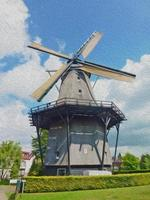 moinho holandês foto
