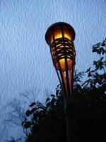 lanterna de jardim foto