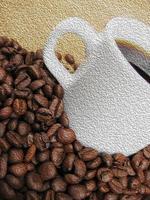 ilustração da xícara de café foto
