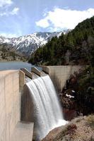 barragem cerdanya na catalunha, espanha