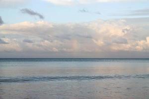 a praia foto