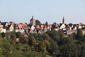 Rothenburg ob der Tauber foto