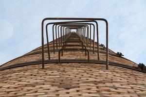 escada de chaminé foto