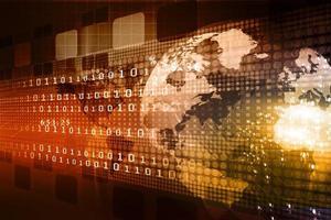 conceito de negócio global foto