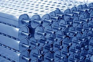 peças de aquecedor solar de água foto